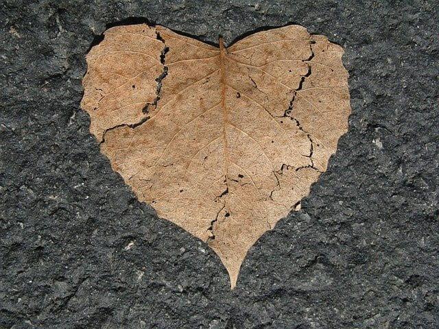 دل شکستن شعر